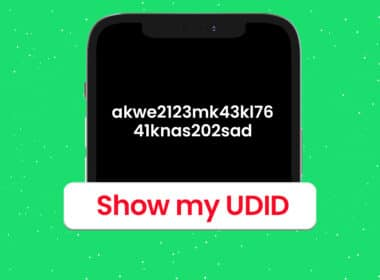 How to find UDID of iPhone and iPad