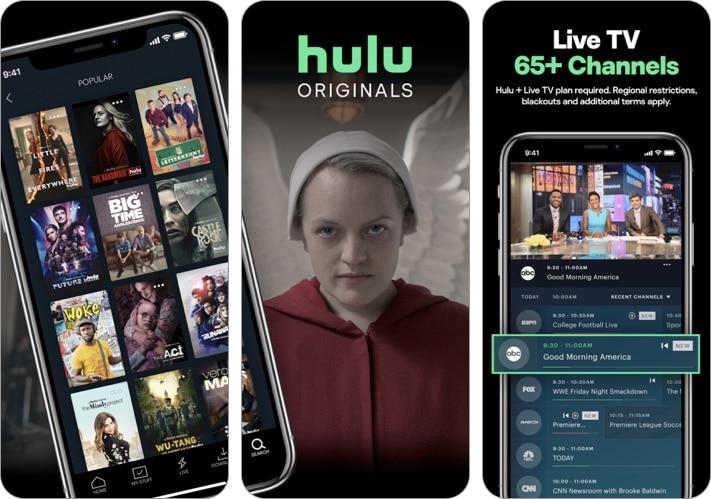 Hulu- Stream movies, TV shows iPhone and iPad app