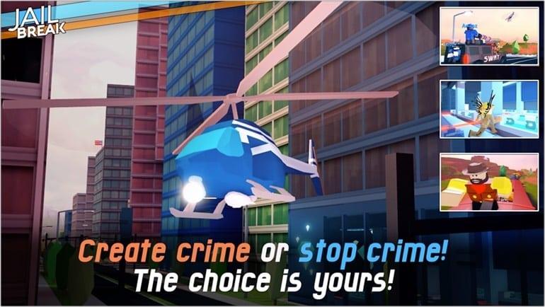 Jailbreak Roblox game