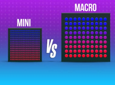 Mini-LED vs. micro-LED