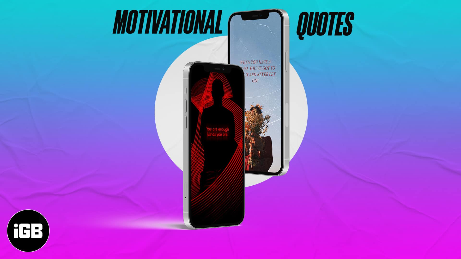 21 Motivational iPhone wallpapers to download in 21   iGeeksBlog