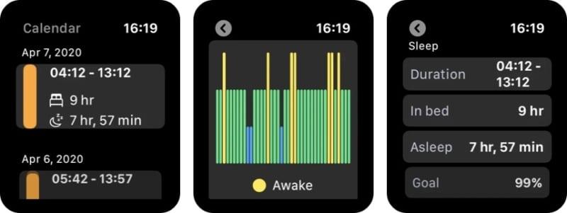 NapBot - приложение для отслеживания сна и сна для Apple Watch