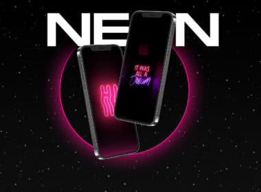 Neon iPhone wallpapers