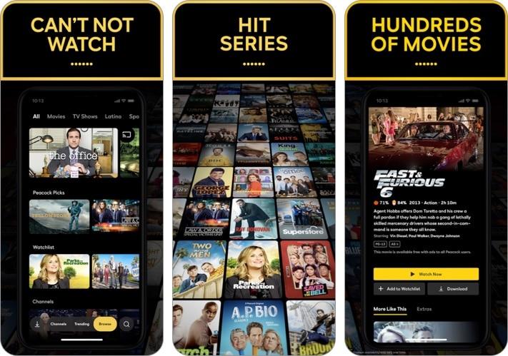 Peacock TV- Stream TV & Movies iPhone and iPad app