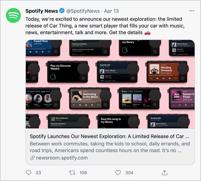 Spotify-Car-Thing-Launch-Твитнуть