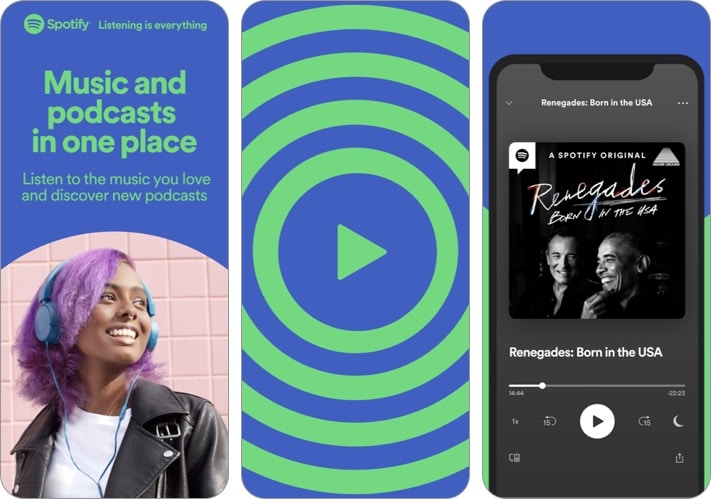 Spotify- Discover new music iPhone and iPad app screenshot