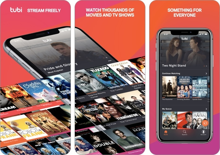 Tubi - Watch Movies, TV Shows iPhone and iPad app