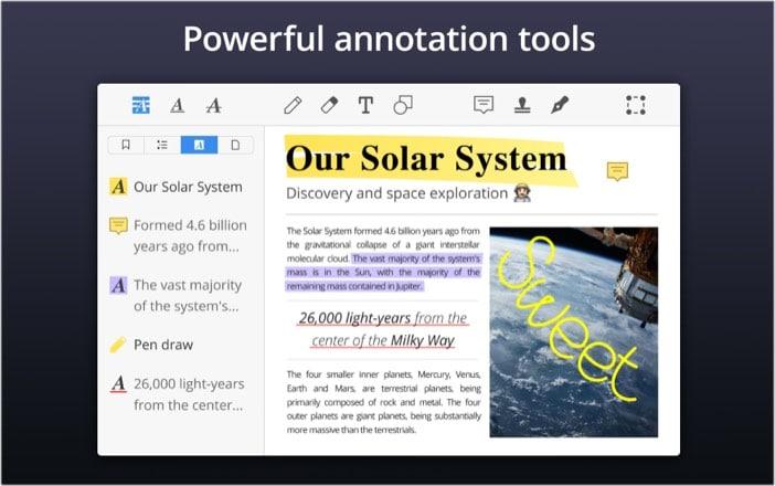 Используйте редактор PDF в macOS Big Sur