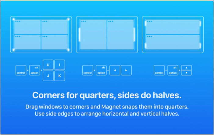 Use the Magnet app to multi-window in macOS Big Sur