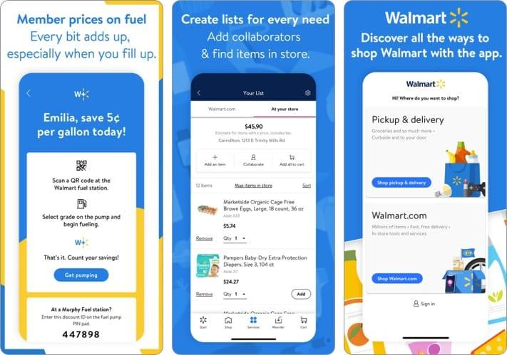 Walmart best shopping app for iPhone