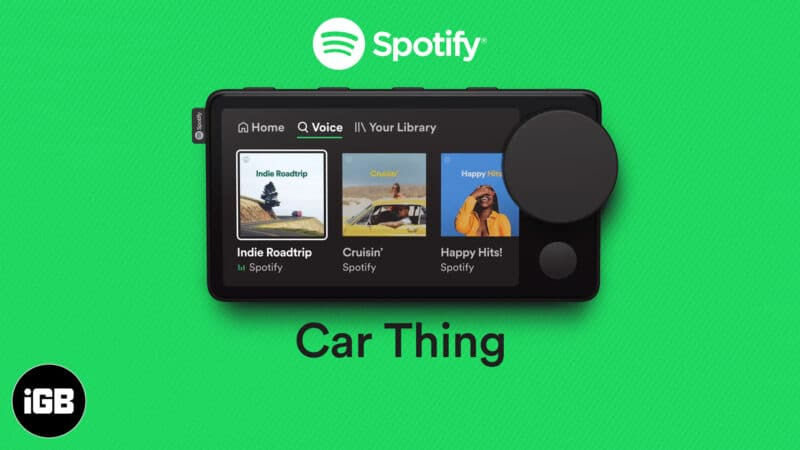 What is Spotify Car Thing and how to get it for free