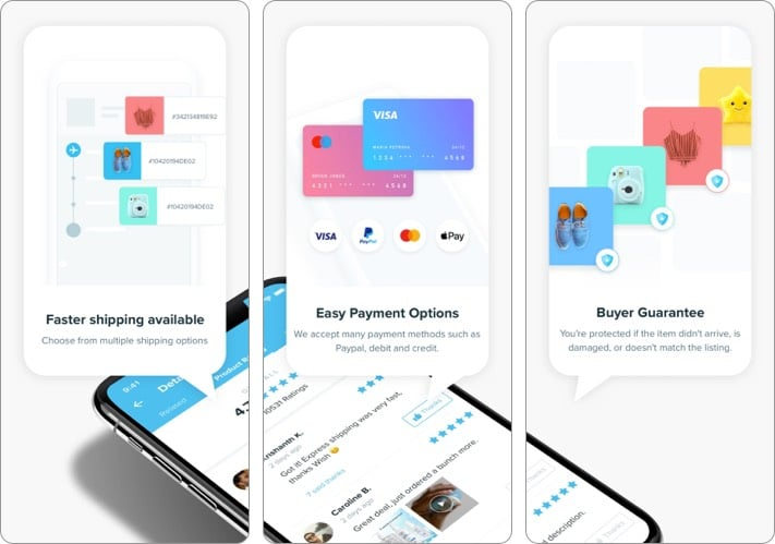 Wish best shopping app for iPhone