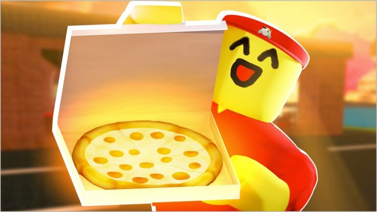 Work at a pizza place Roblox game