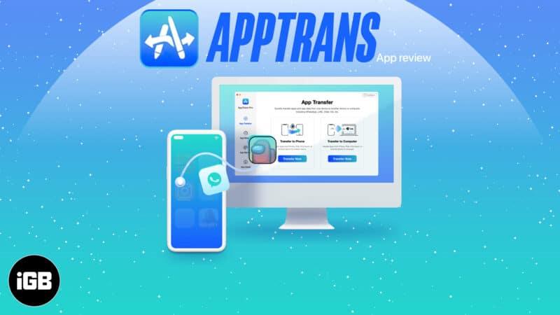 AppTrans Mac app review