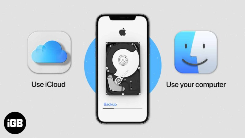 How to Backup iPhone and iPad to iCloud, Mac, or Windows PC