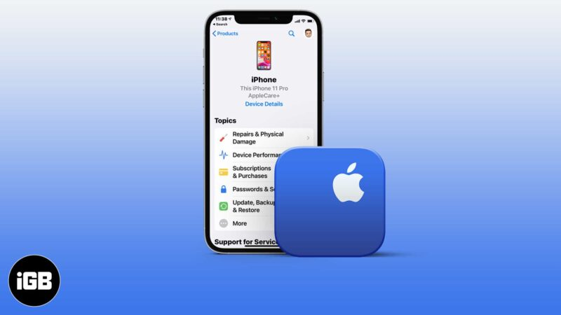 How to contact Apple Support
