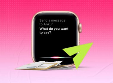 How to send a message with Siri on Apple Watch