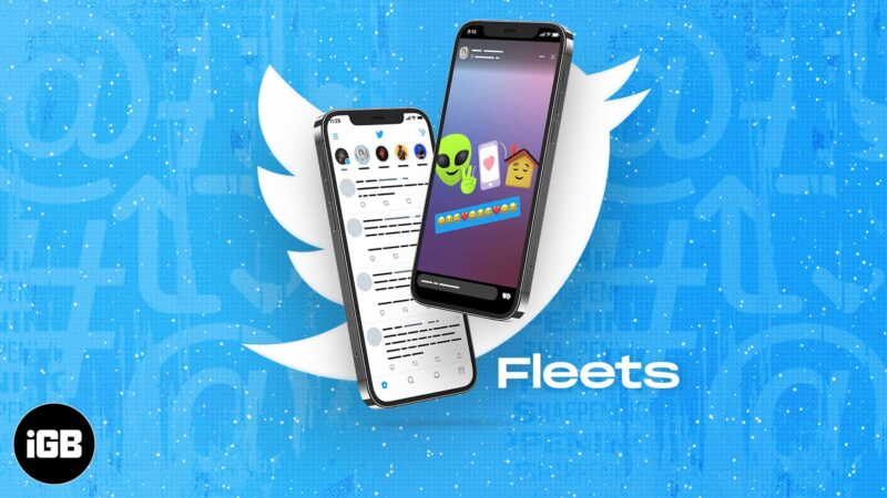How to use Twitter Fleets on iPhone and iPad