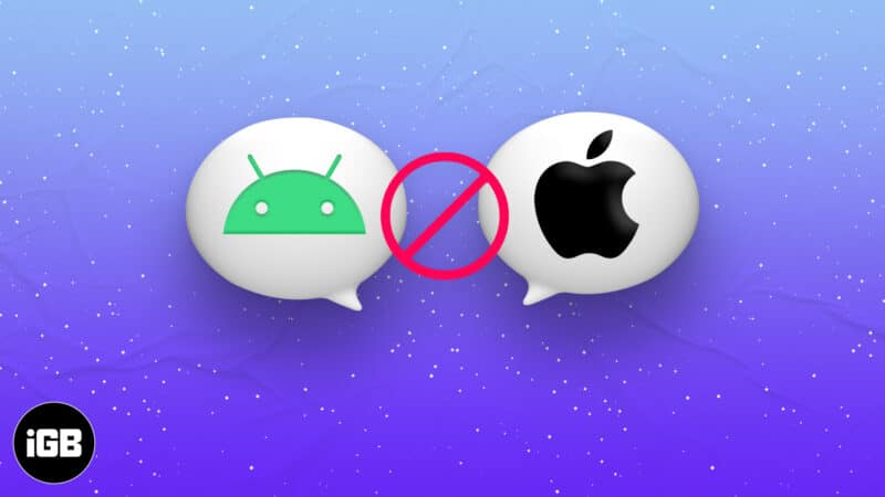 iPhone not receiving texts from Android