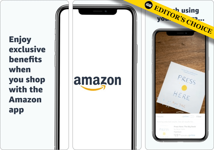 Amazon best shopping app for iPhone