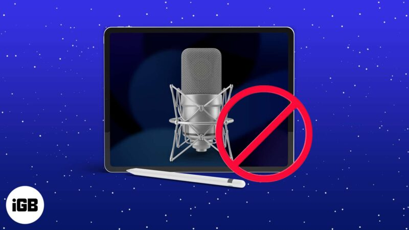 iPad Microphone Not Working? How to Fix It