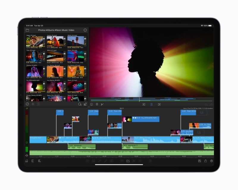 Leistung des neuen iPad Pro 2021