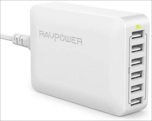 RAVPower iSmart Multiple Port charging station for iPad