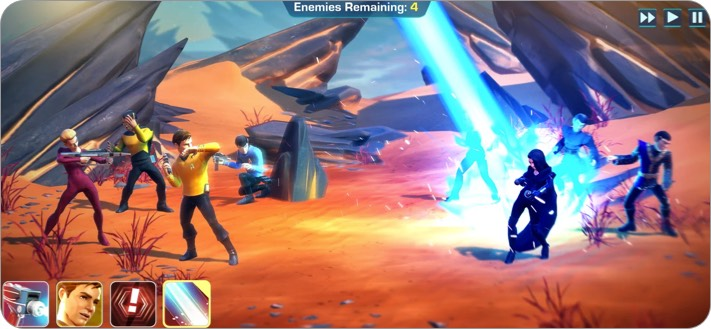 star trek legends apple arcade game screenshot