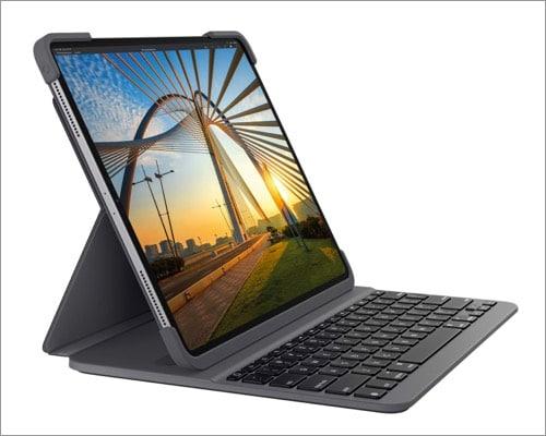 Turn iPad into a laptop with Logitech slim folio