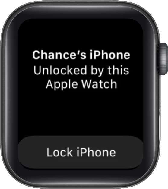 unlock your iPhone with your Apple Watch when wearing a face mask
