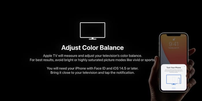 Adjust color balance with iPhone