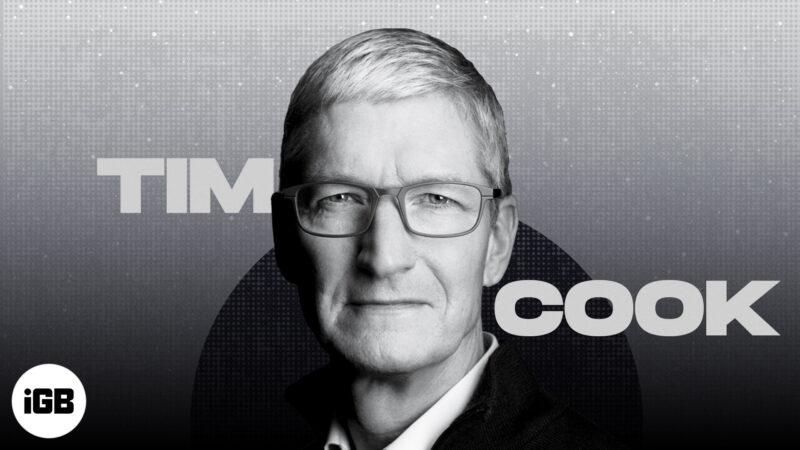 Apple CEO Tim Cook biography