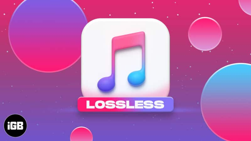 Apple Music Lossless Streaming
