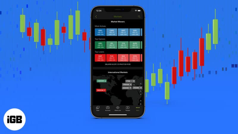 Best iPhone stock trading apps
