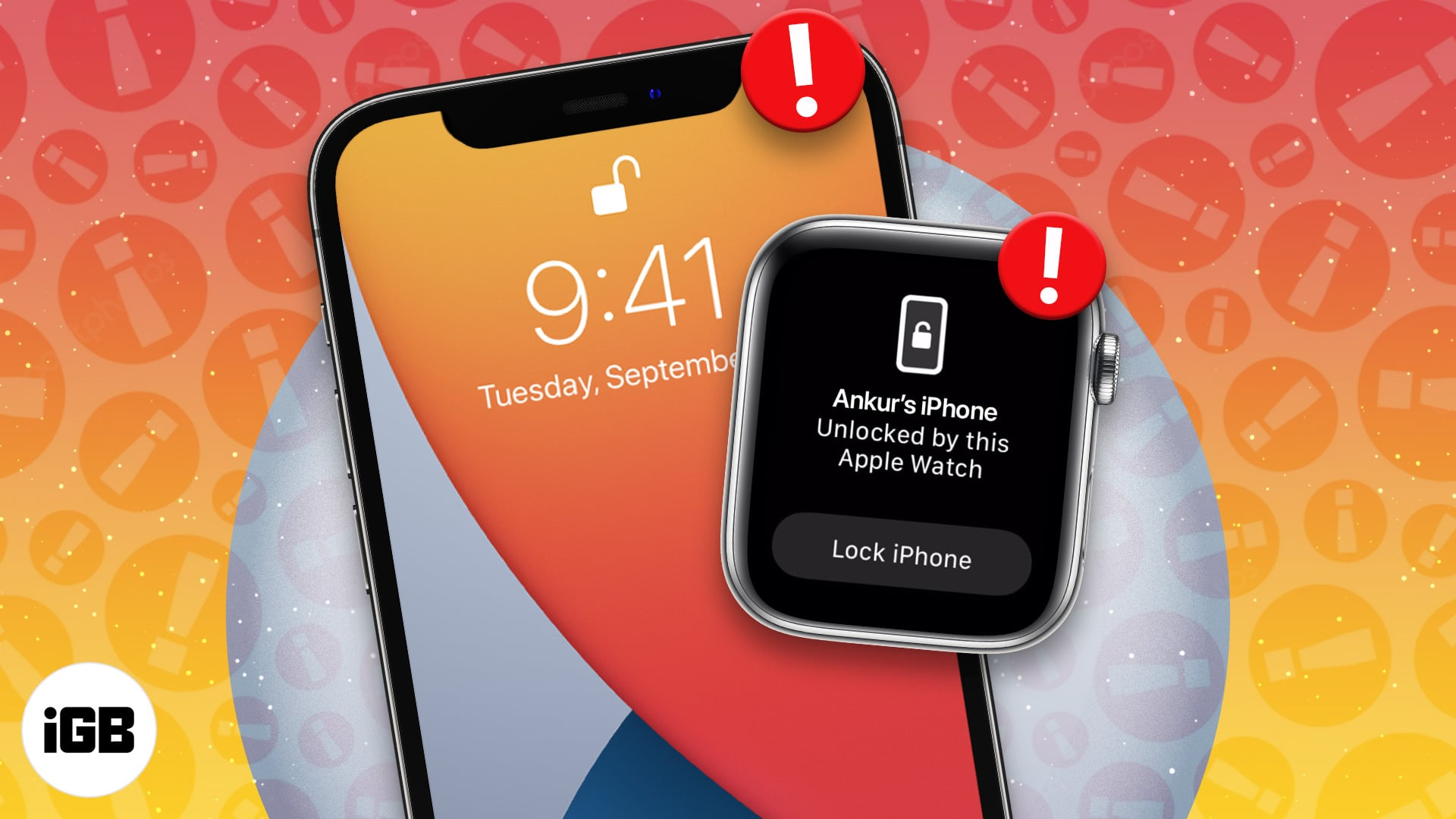 Can't unlock iPhone with Apple Watch
