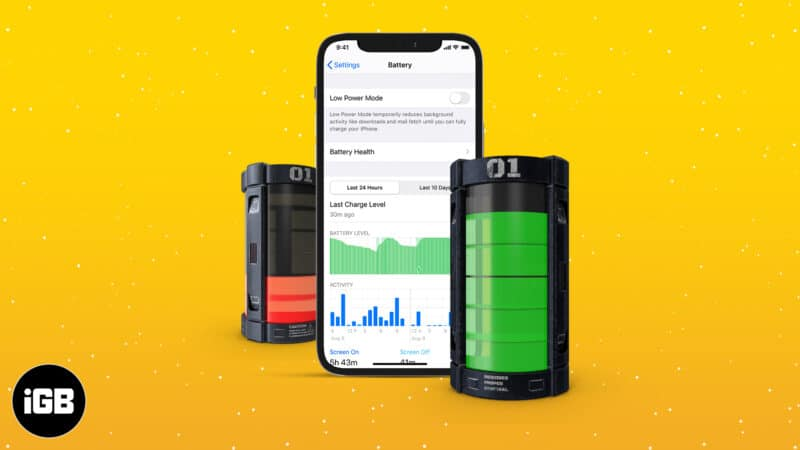 How to Check Battery Usage on iPhone