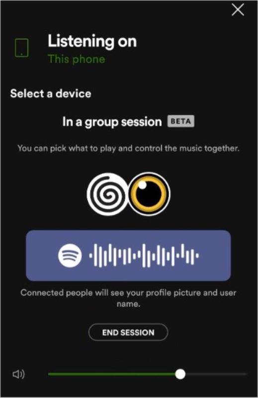 So verlassen oder beenden Sie eine Spotify-Gruppensitzung