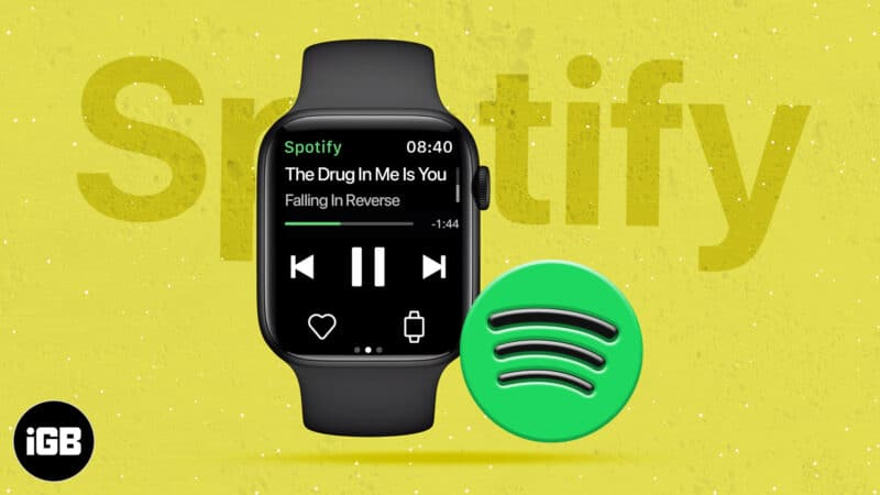 How to play and use Spotify on Apple Watch