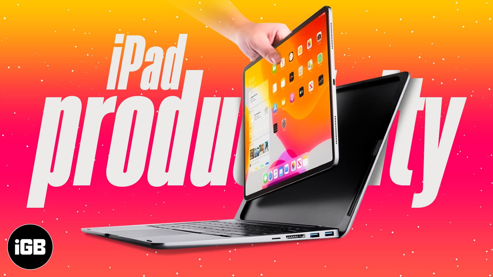 How to turn your iPad into a laptop for productivity