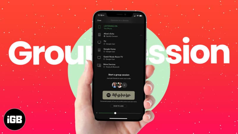 How to use Spotify Group Session to stream with your squad
