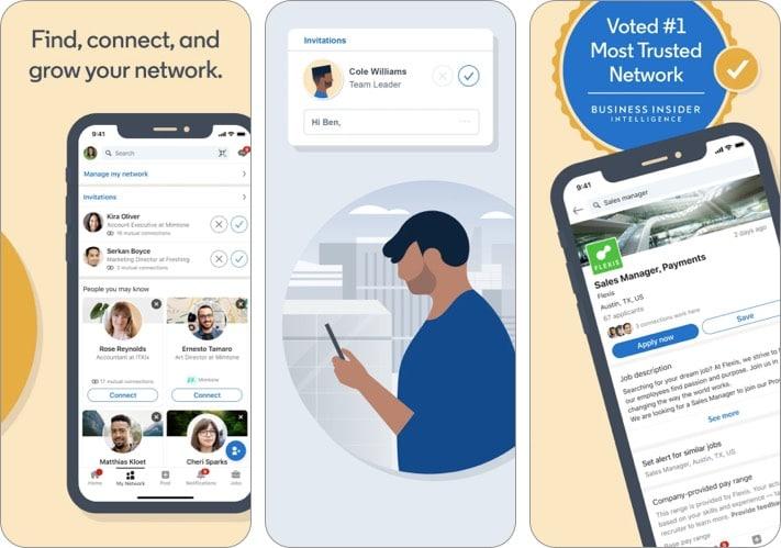 linkedin best facebook alternative for iPhone and iPad