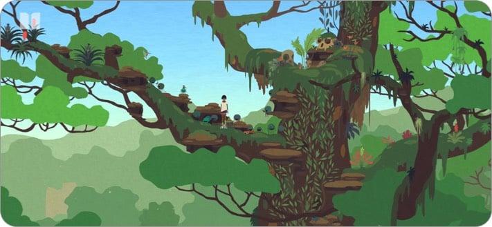 Mutazione apple arcade game screenshot