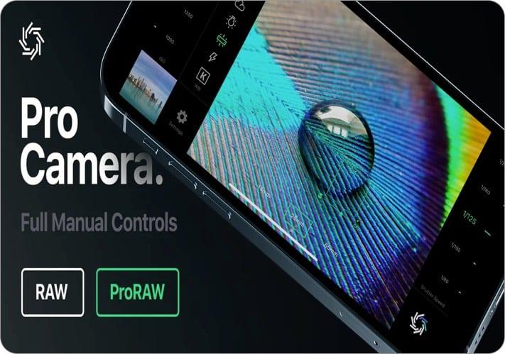 RAW+ iPhone camera app screenshot