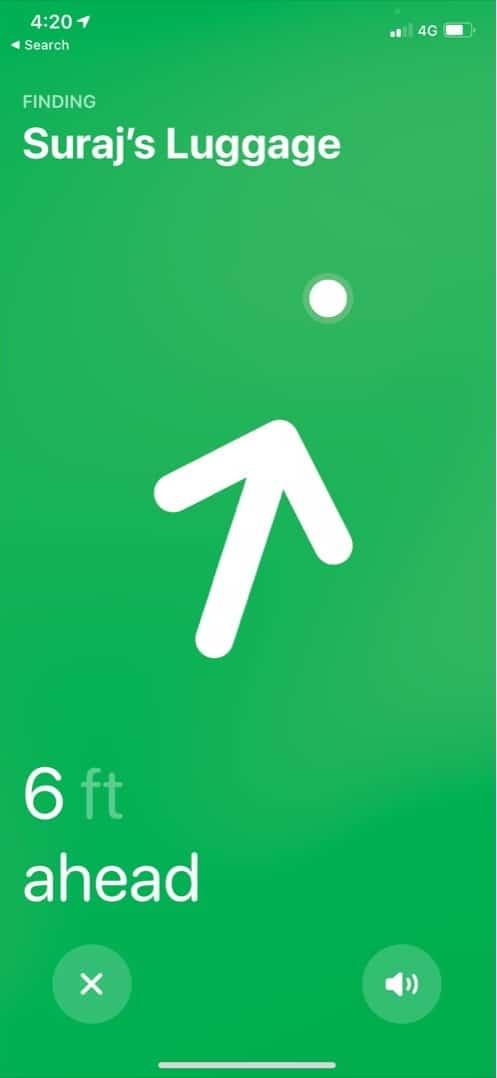 Tippen Sie auf AirTag-Name, um den versteckten Entwicklermodus zu aktivieren
