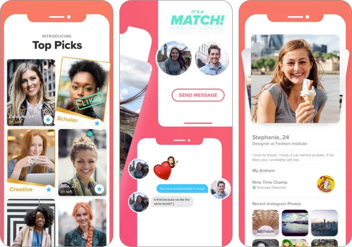 tinder best facebook alternative for iPhone and iPad