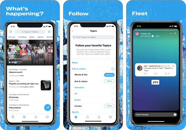 twitter best facebook alternative for iPhone and iPad