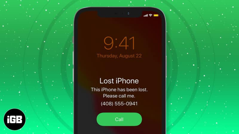 What to do when your iPhone is lost or stolen