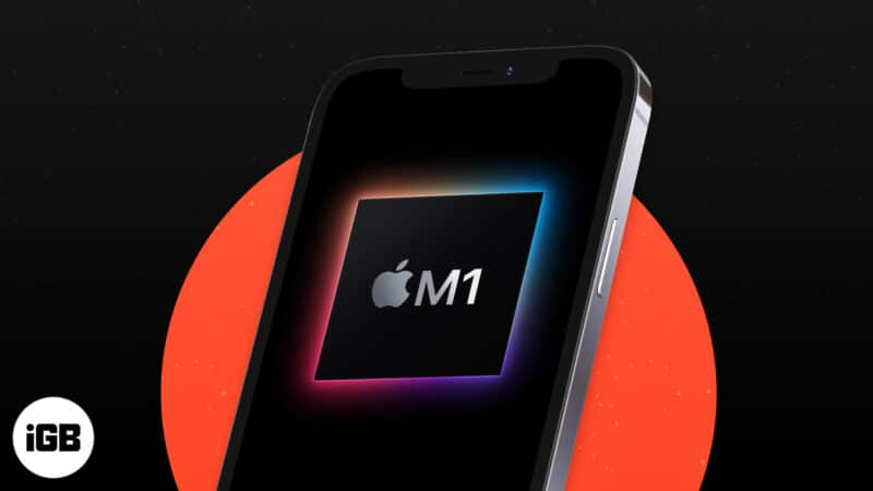 Will the new iPhone 13 also have an M1 chip?
