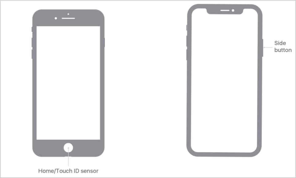 How to access Magnifier triple-clicking the Side or Home button