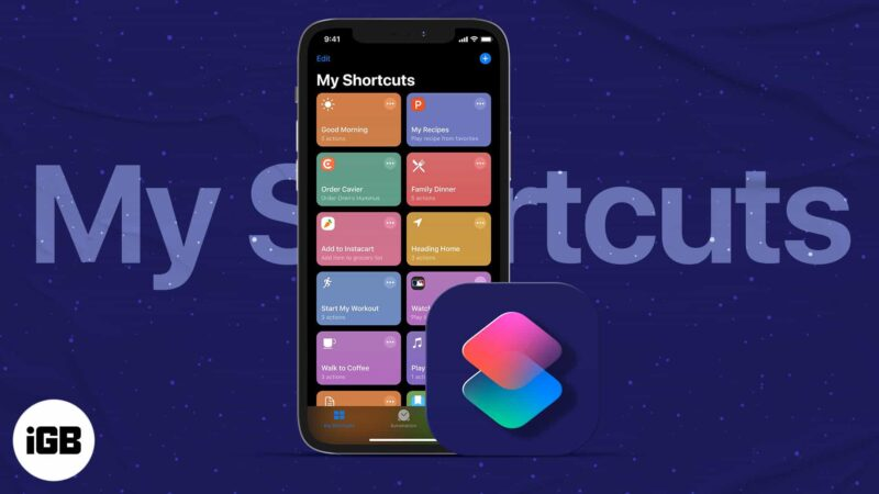 How to use Shortcuts app on iPhone and iPad